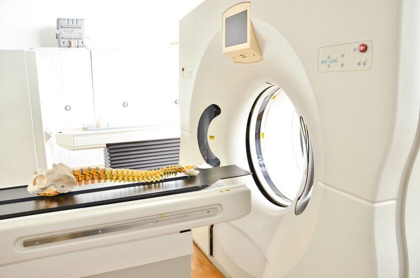 Tomografia komputerowa kręgosłupa
