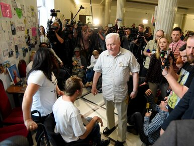 Wałęsa znowu zabrał głos w sprawie protestujących. Krytykuje Kościół,...