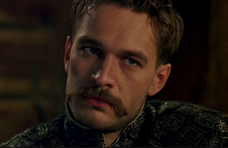 """Michał Żebrowski jako Jan Skrzetuski w filmie """"Ogniem i mieczem"""" (1999)"""