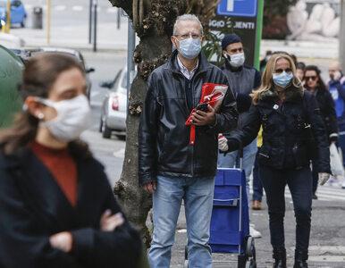 """Najnowsze dane z Włoch o zakażeniach koronawirusem. """"Jest światełko w..."""