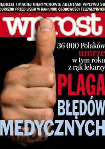 Okładka tygodnika Wprost nr 23/2005 (1175)