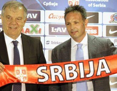Serbscy piłkarze mają nowego trenera