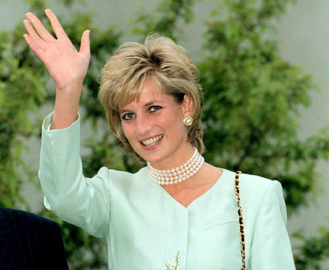 Księżna Diana, maj 1996 roku