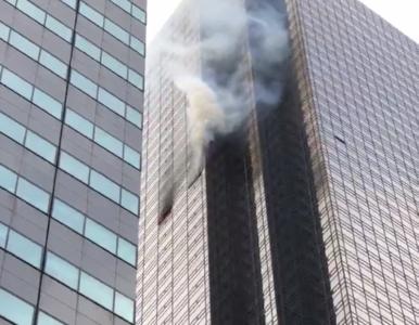 Pożar w Trump Tower. Jedna osoba nie żyje, ranni strażacy