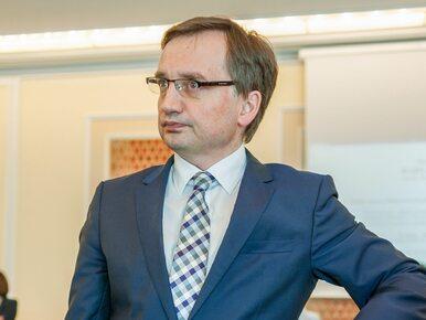 """Ziobro rozważy zgłoszenie uchwały SN do TK. """"Trybunał jest traktowany..."""