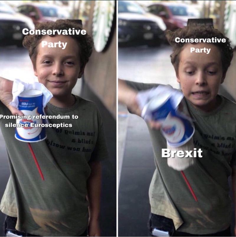 Coś odnośnie obietnicy kolejnego referendum