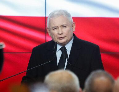 """Kaczyński wygłosił oświadczenie. """"My prowadzimy politykę uczciwymi..."""