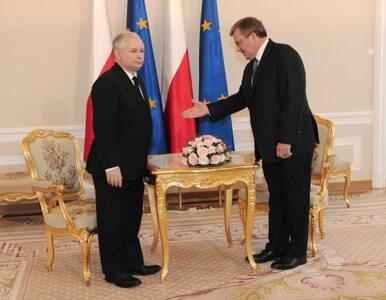 Kaczyński znów powalczy z Komorowskim?