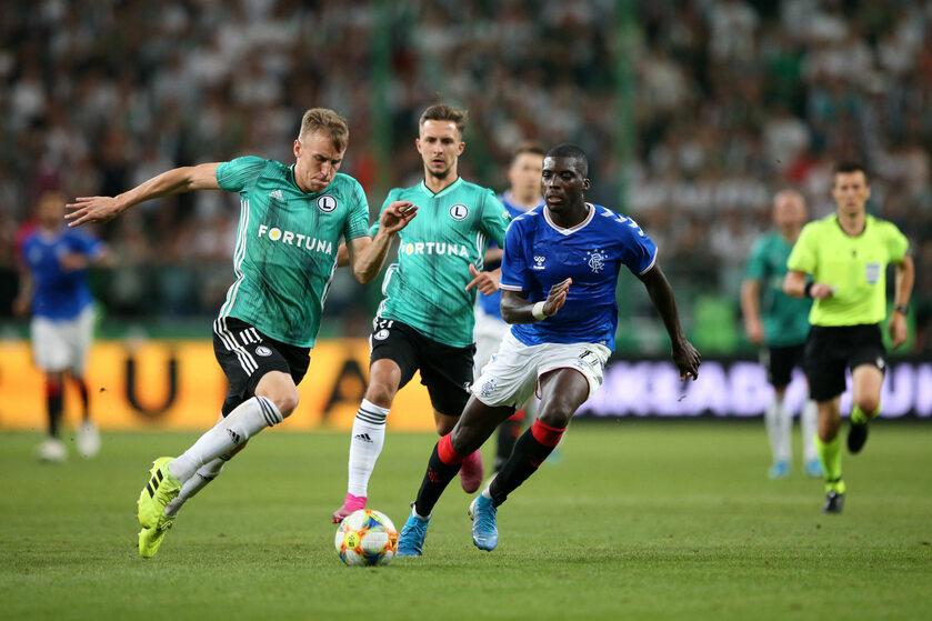 Zdjęcie z meczu Legia Warszawa - Glasgow Rangers