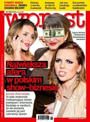 Okładka tygodnika Wprost nr 5/2014 (1613)