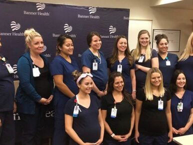 """16 pielęgniarek z tego szpitala jest w ciąży. """"Coś musi być w wodzie"""""""