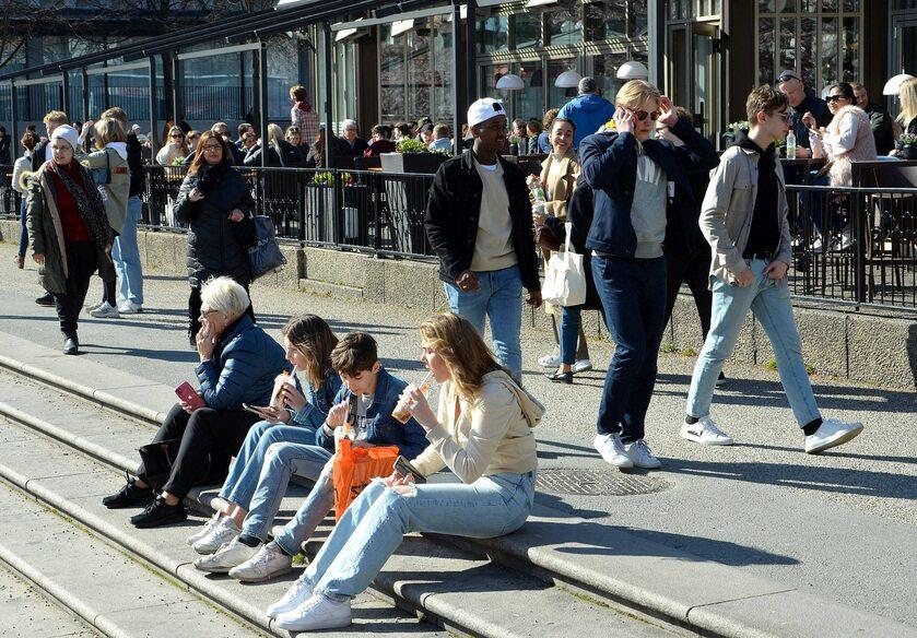 Sztokholm, początek kwietnia