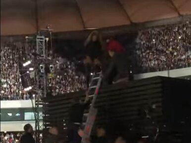 Wpadka na koncercie Beyonce w Warszawie. Gwiazda schodziła za sceny......