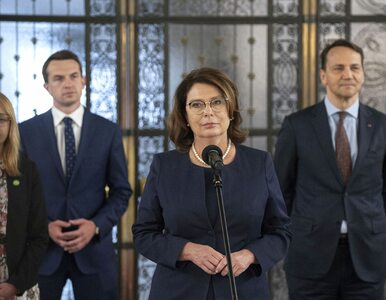"""Kidawa-Błońska zostanie prezydentem Warszawy? """"Każdy scenariusz jest..."""