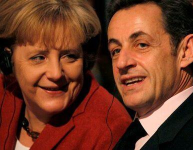 Merkel i Sarkozy: najpierw we dwoje, potem na szczyt