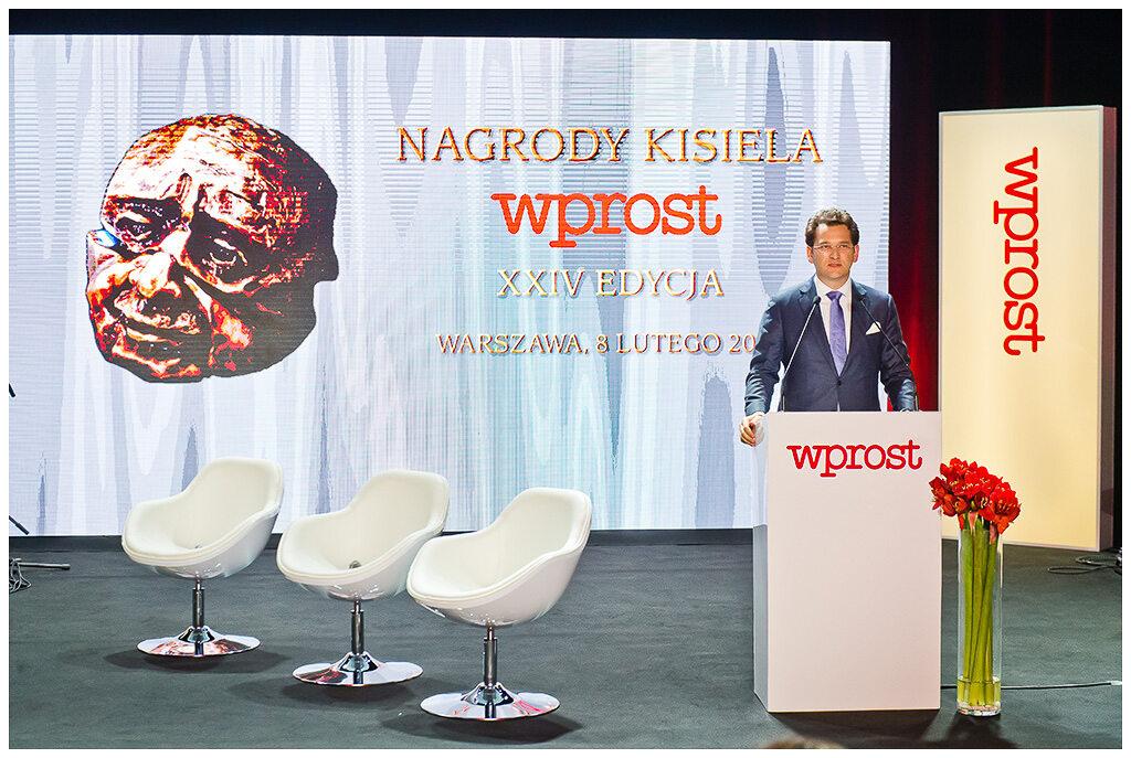 Prezes PMPG Michał M. Lisiecki
