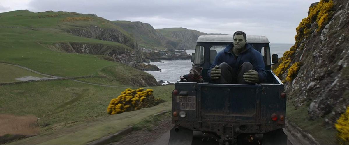 "Mark Ruffalo jako Bruce Banner/Hulk w filmie ""Avengers: Koniec gry"" (2019)"