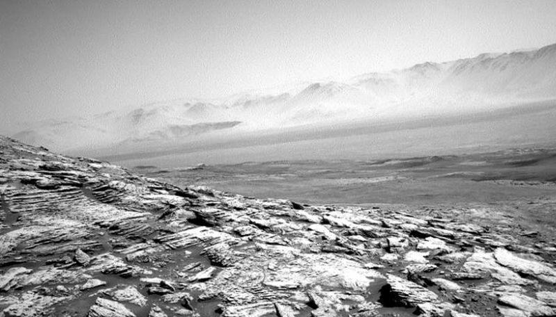 Pył na Marsie?