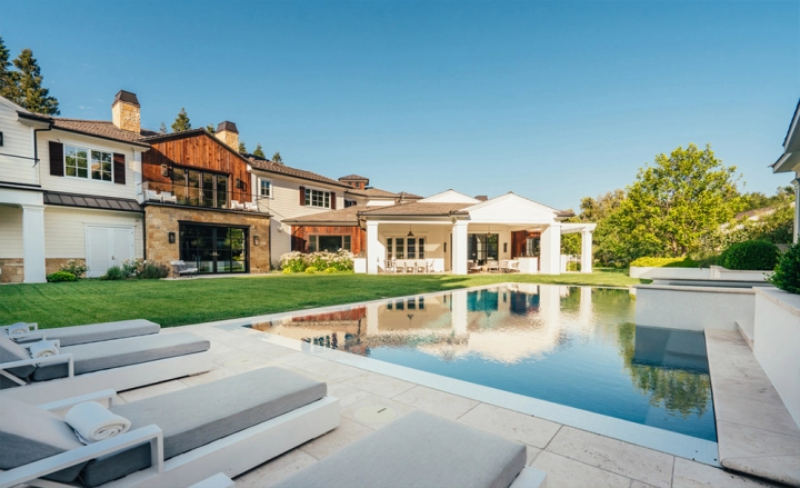 Dom wokalisty znanego jako The Weeknd w Hidden Hills w Los Angeles