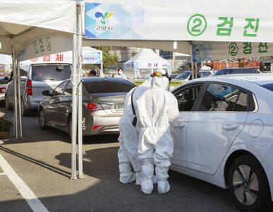 586 nowych zachorowań na koronawirusa w Korei Płd. Ponad 50 proc....