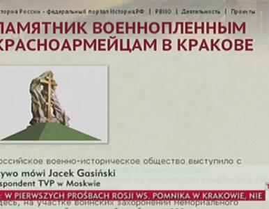 """Rosjanie chcą w Krakowie pomnika """"zamęczonych w polskich obozach śmierci"""""""
