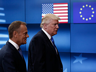 "Tusk apeluje do Trumpa. ""Make trade, not war"""