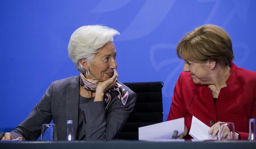 Christine Lagarde, Angela Merkel