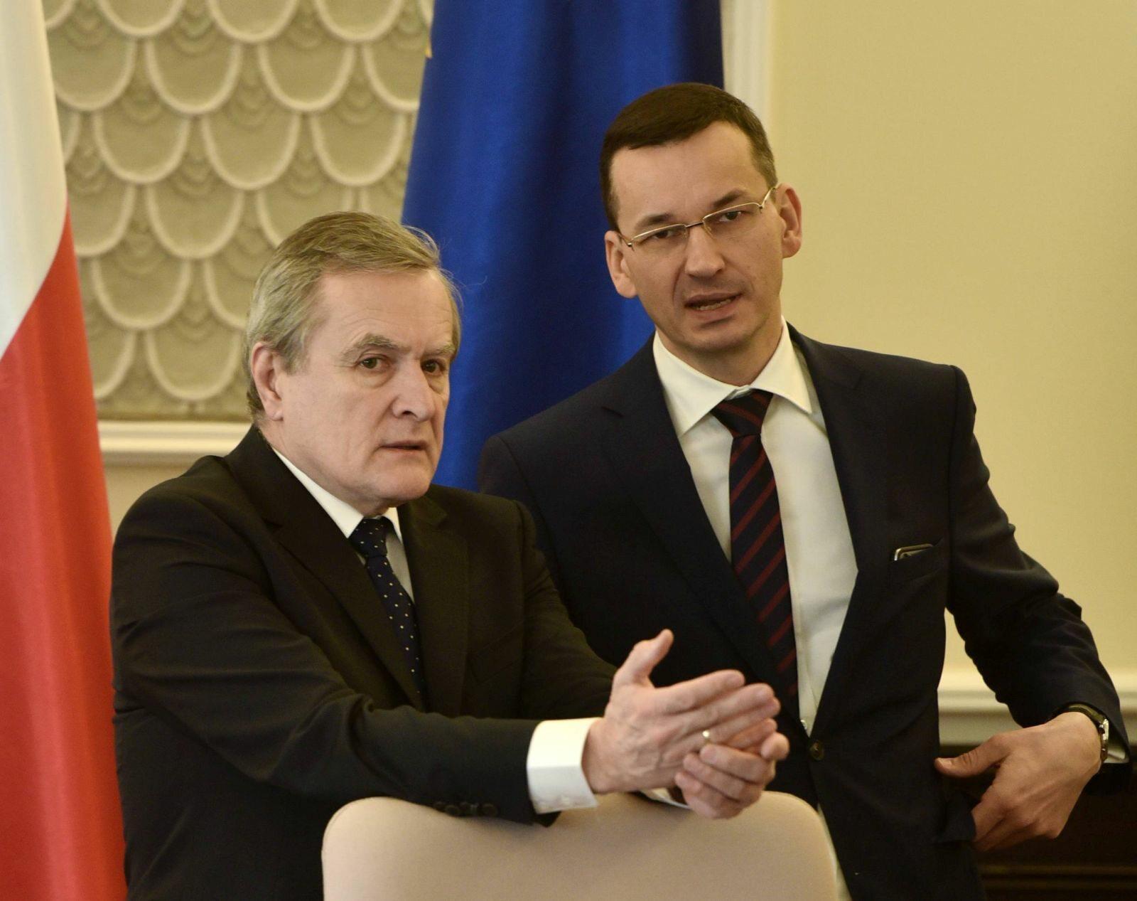 Piotr Gliński i Mateusz Morawiecki