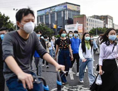 Chiny. Mimo oznak słabnięcia pandemii, koronawirus wciąż groźny
