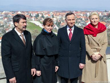 Drugi dzień wizyty Andrzeja Dudy na Węgrzech. Odwiedził wystawę...