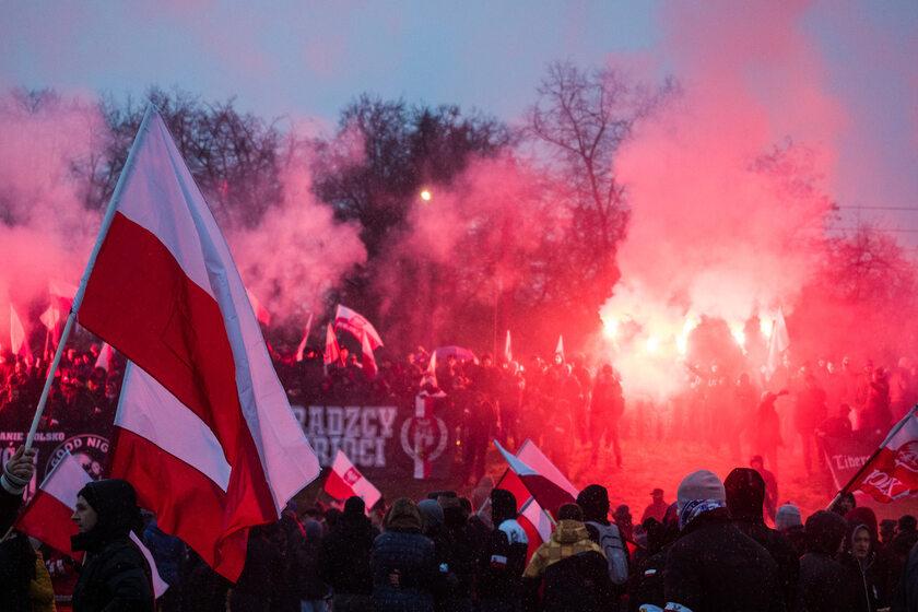 Marsz Niepodległości w 2016 r.