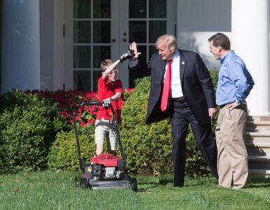 11-latek skosił trawę przed Białym Domem. W zamian Donald Trump...