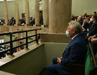 Kwaśniewski jako jedyny były prezydent pojawił się na zaprzysiężeniu...