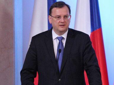 Czesi w poniedziałek stracą premiera