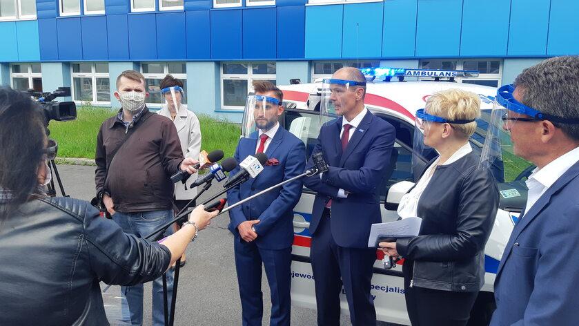 BASF współfinansował ambulans medyczny dla szpitala w Legnicy