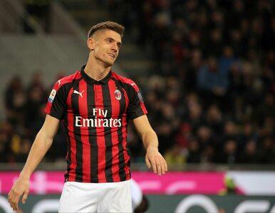 Krzysztof Piątek nie zagra w Lidze Europy. AC Milan wykluczony z rozgrywek