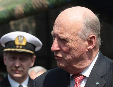 Norweski król wystrzelił w Polsce wirtualną rakietę