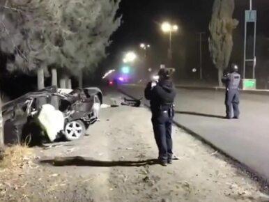 Pięć ofiar śmiertelnych wypadku samochodowego. Za kierownicą...