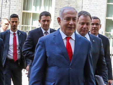 """Premier Izraela o """"wspólnym interesie wojny z Iranem"""". Wpis usunięto,..."""