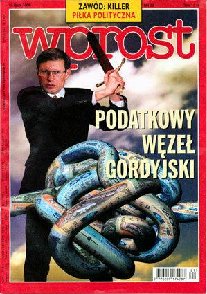 Okładka tygodnika Wprost nr 29/1998 (816)