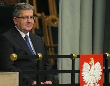 Komorowski: to był dramatyczny rok. Solidarność Polaków dała siłę państwu