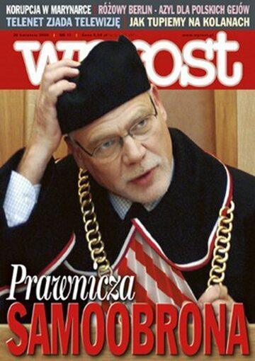 Okładka tygodnika Wprost nr 17/2006 (1220)