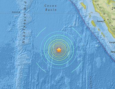Potężne trzęsienie ziemi nawiedziło Indonezję