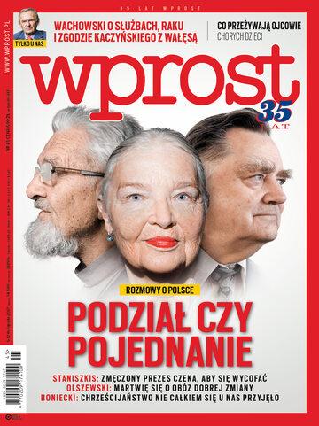 Okładka tygodnika Wprost nr 45/2017 (1810)