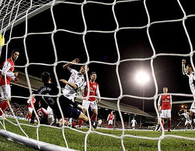 Arsenal przegrał przez Szczęsnego