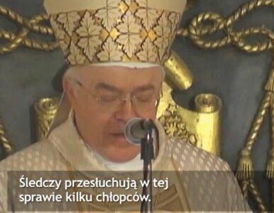 """Nuncjusz apostolski podejrzewany o pedofilię. """"To rani sumienia katolików"""""""