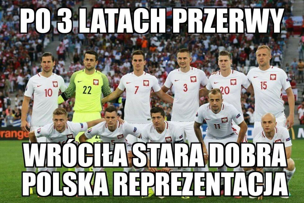 Memy po meczu Dania - Polska