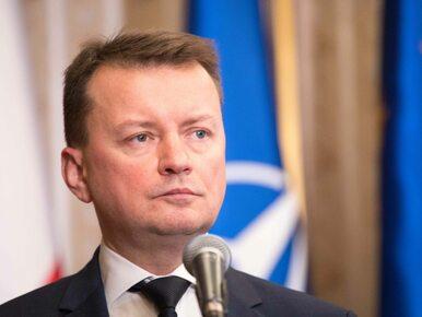 Mariusz Błaszczak o ustawie degradacyjnej: Nie będzie nowego projektu