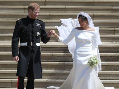 Suknia ślubna Meghan Markle to plagiat? Znana projektantka oskarża