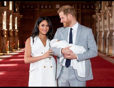 Chrzest syna Meghan Markle i księcia Harry'ego. Co wiadomo o ceremonii?